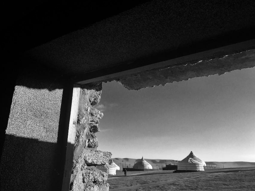 Light#nature #mongolia #blackandwhite #black&white #freetoedit